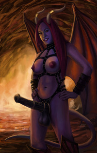 hentai from hell futanari audaxis pictures user demon futa