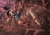 hentai girl tentacles keki elf tentacles hentai girl fucked