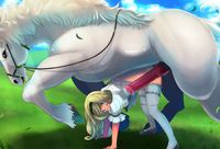 hentai horse bestiality lusciousnet metabooru horse bestiality manga pictures album zoolive hor