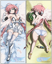 hentai pillow pre ikaros pillow cover flame dagger tod morelikethis manga traditional mixedmedia