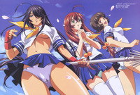 hentai series names miscellaneous winter preview ikkitousen dragon destiny magazine spread