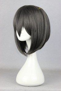 hentai with black girls wsphoto cute girls short black grey mixed anime figure cosplay hentai ouji warawanai neko tsutsukakushi tsukiko item synthetic hair