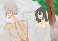 hot springs hentai hot springs part kakashi nanami owocowe naruto ino