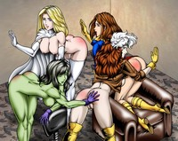 hulk hentai albums hentai wallpaper mix toons emma frost kitty pryde marvel rogue shadowcat hulk white queen men wallpapers unsorted