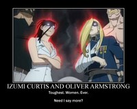 izumi curtis hentai fma demotivational tough women angel alchemy wwate art