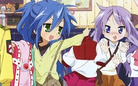 kagami hentai data wallpaper luckystar