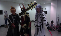 kingdom hearts birth by sleep aqua hentai mcm londons expo cosplayers