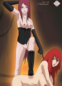 kushina hentai pics ffefb naruto rule kushina uzumaki kyuubi kurama nhunter silvercore naruko orange hair red