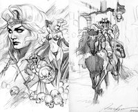 lady death hentai lady death roughs felipemassafera morelikethis artists