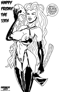 lady death hentai karmagik pictures user lady death friday