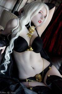 lady death hentai lusciousnet lady death cosplay babe superheroes pictures album colored sketch