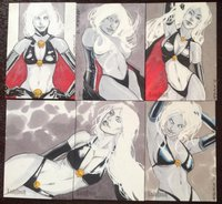 lady death hentai lady death cards grover qewt morelikethis cartoons traditional comics mixedmedia