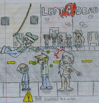 left 4 dead hentai pre left dead fan art rathaloskid morelikethis fanart manga traditional fancomics