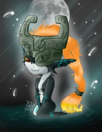 legend of zelda midna hentai midna errya morelikethis fanart digital drawings
