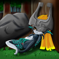legend of zelda midna hentai bbef legend zelda twilight princess midna throat