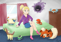 lollipo chainsaw hentai pokemon trainer imadrummerxd morelikethis digitalart