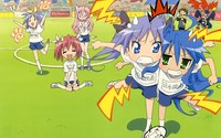 lucky star hentai kagami data wallpaper luckystar