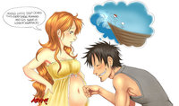 luffy and nami hentai media original nami luffy singular piece hentai cartoon rainpow search