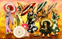 luffy and nami hentai thumbnails detail one piece nico robin nami kimono luffy zoro sanji chopper japanese clothes wallpaper wallpaperhi anime hentai