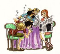 luffy and nami hentai one piece luffy nami ussop chopper after years picture