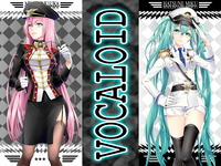 luka megurine hentai konachan blue eyes hair hatsune miku long megurine luka pink twintails vocaloid search label lucky star