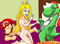 mario and sonic hentai comics toons mario porn more pics cartoon hentai atom
