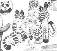 master tigress hentai lusciousnet genesisdream furries pictures album kung panda