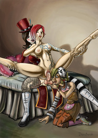 maya and lilith hentai donutwish borderlands lilith mad moxxi maya tiny tina