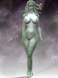 medusa hentai cabdf furyfire gorgon greek mythology medi medusa