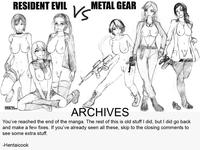 metal gear solid 4 hentai deaf ada wong ashley graham eva hentai cook ingrid hunnigan metal gear solid naomi hunter para medic resident evil comic crossover
