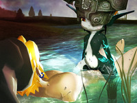 midna and link hentai bcs legend zelda link midna twilight princess porn