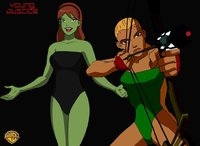 miss martian hentai miss martian artemis one piece swimsuits mint espioartwork pbicm morelikethis collections