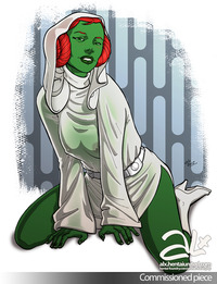 miss martian hentai fuckit pictures user miss martians cosplaying leia