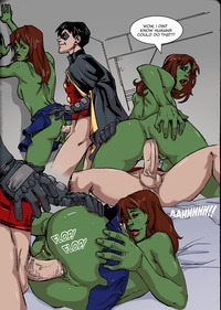 miss martian hentai pics porn comics young justice black canary search anal