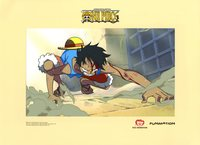 monkey hentai media original single piece cel monkey luffy akadot retail
