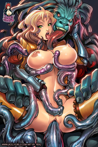 monster hentai pics monster hentai tentacles cartoon tits fucks girl tentacle
