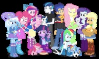 my little pony flash hentai cee equestria girls equine eyes closed female freckles friendship magic