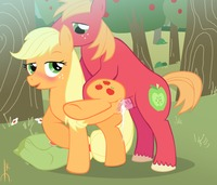 my little pony hentai rule 34 edd applejack macintosh friendship magic little pony evilkey hentai baa boy fluttershy