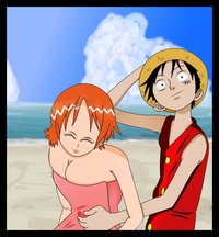 nami hentai galleries pre nami luffy hand banana hentai