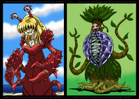 plant vore hentai pre queen cancer happy plant enshohma morelikethis artists digitalart
