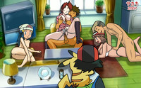 pokemon professor juniper hentai media crystal pokemon hentai