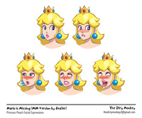 princess peach hentai gallery thedirtymonkey princess peach faces pictures user