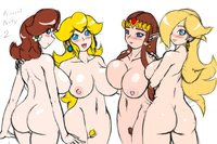 princess peach hentai gif daf eba legend zelda princess daisy peach rosalina speeds super mario bros galaxy crossover hentai