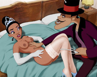 princess tiana hentai disney porn princess frog tiana facilier bangs