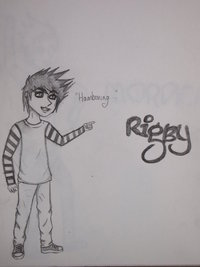 regular show hentai pre human rigby regular show megsg morelikethis fanart cartoons traditional