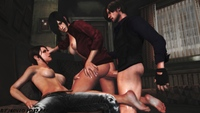 resident evil ada hentai ada wong claire redfield leon kennedy mintofoularis resident evil hentai media jack