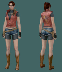 resident evil claire redfield hentai claire redfield resident evil darkside chronicles character artwork