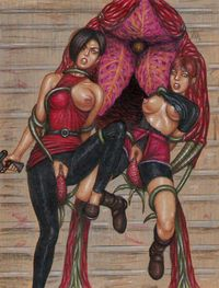 resident evil claire redfield hentai ada wong claire redfield edithemad resident evil