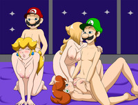 rosalina mario hentai efd luigi mario princess daisy peach rosalina speeds speedy super bros galaxy