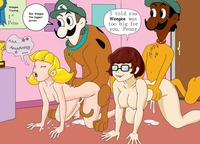 scooby doo anime hentai media original inspector gadget penny porn scooby doo crossover hentai cartoon